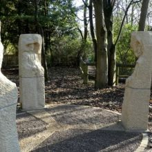 Pillars Past Sculpture Representing the History of Nidderdale